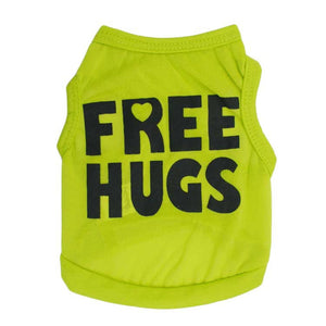 Free Hugs T Shirt For Cats