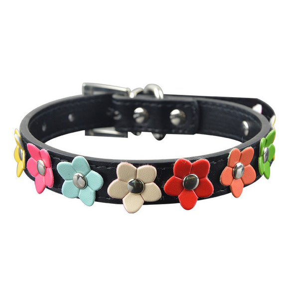 Gorgeous Flower Designed Cat Collars