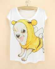 Chill Dog Print T Shirts Collection