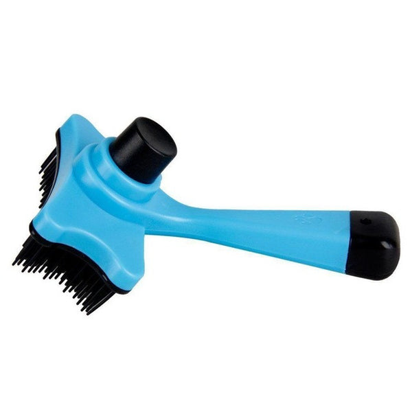 Quick Self Cleaning Dog Brush For Hair