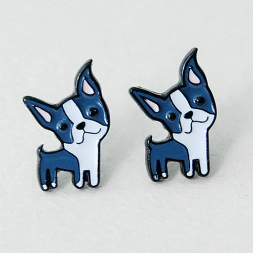 Cartoon Puppy Earrings!