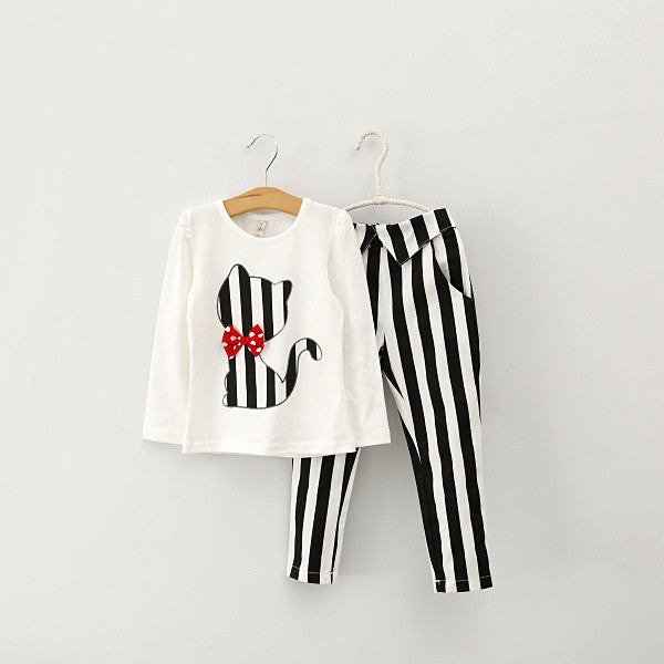 27a4aa00 Buy Stripped Baby Outfit with Bow Tie! at Lowest Price - Poochnkitty
