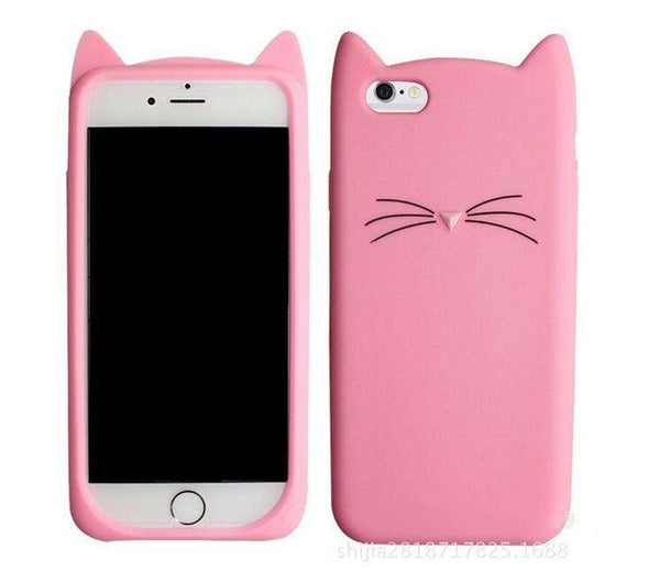 Adorable Silicone Hello Kitty Case for iPhone!