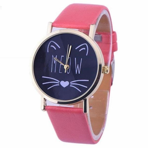 [HOT] Meow Hello Kitty Watch! Color Changing Straps!