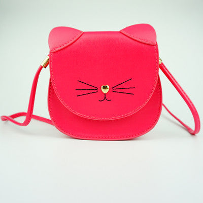 Cute Sleeping Kitty Purse!
