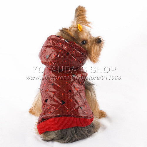 [NEW] Adorable Dog Jacket with Hoodie