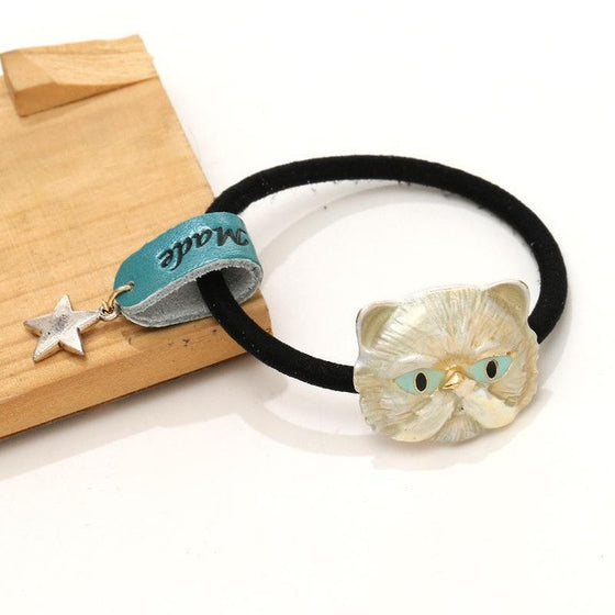 Gorgeous Elastic Cat Hair Bows