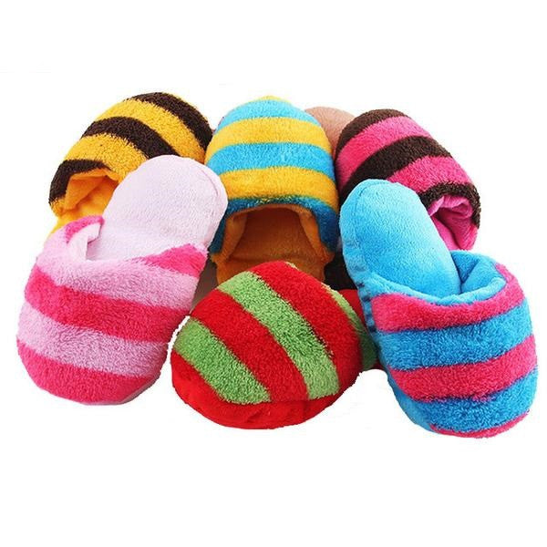 Fake Slipper Dog Chew Toys