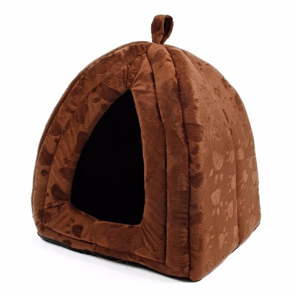 Cute Dome and Pyramid Shaped Bed For Cats