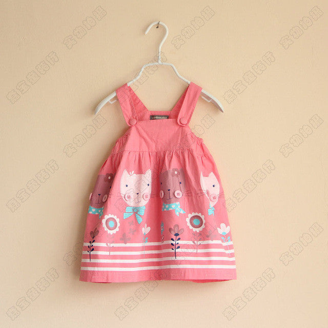 Cute Summer Hello Kitty Clothes For Babies