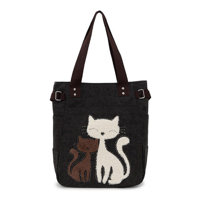 [NEW] Cute Loving Kitties Bonding Should Cat Purse!