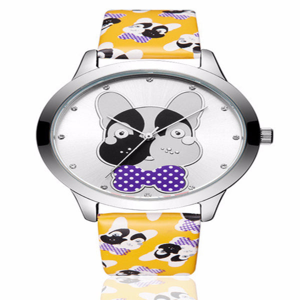 Thick Puppy Quartz Dog Wrist Watch Waterproof