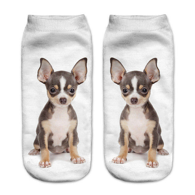 Puppy Socks Collection Multiple Designs