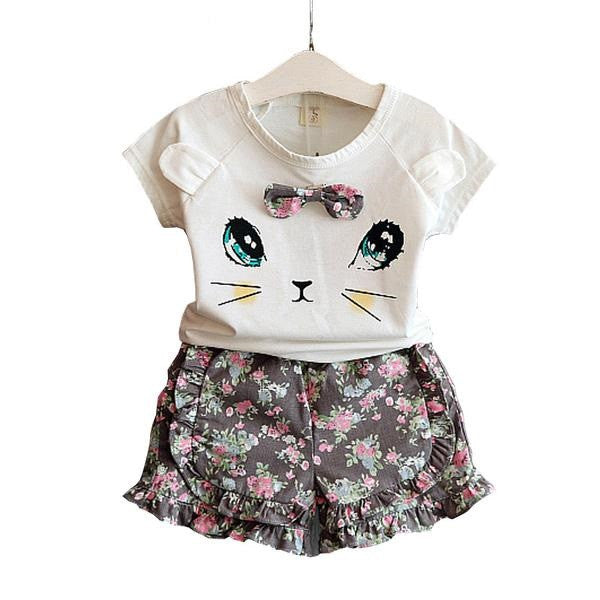 Adorable Irresistible Summer Hello Kitty Dress