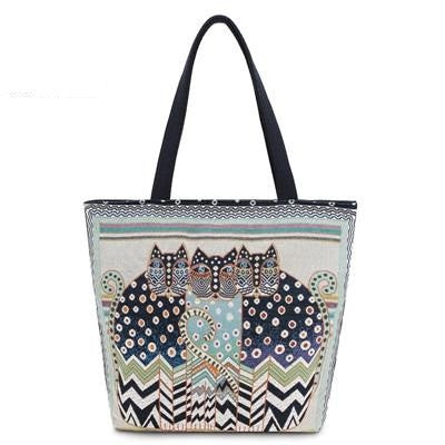 [HOT] Tripple Kitty Summer Beach Kitty Handbag!