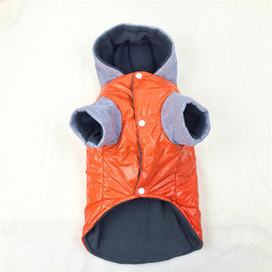 Dog Thick Waterproof Jacket With Hood