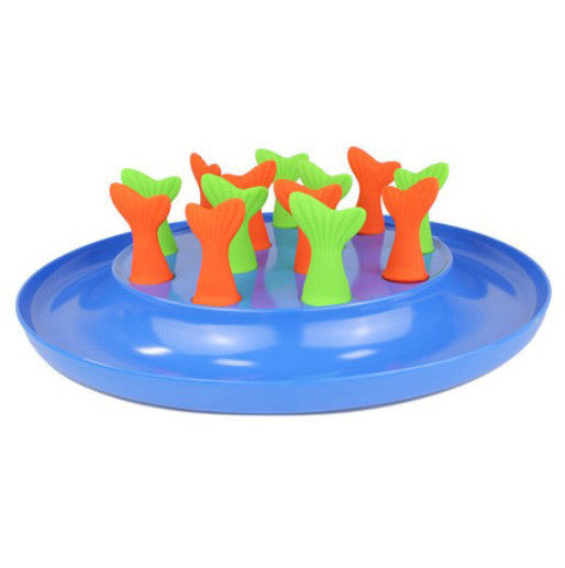 Fish Tail Cat Feeding Bowl