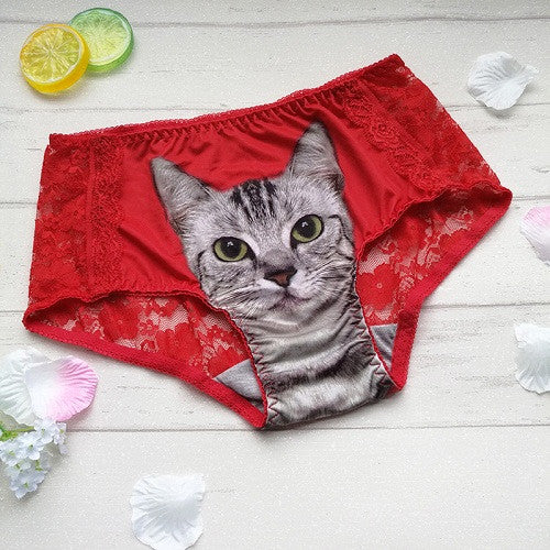 Pussy Cat Panty Lace