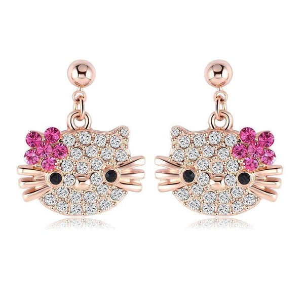 Limited Edition Hello Kitty Earrings for Kids!