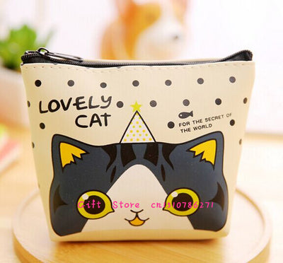 Adorable Kitty Cat Wallet & Coin Purse!