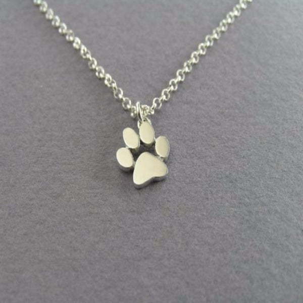 Gorgeous Simple Dog Paw Necklace