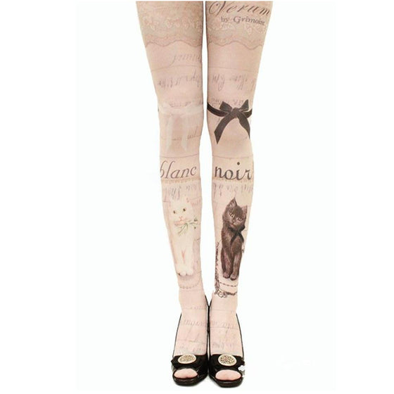 "New ""Tattoo"" Cat Tights Collection"