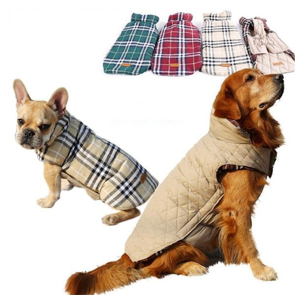 Reversible Dog Winter Jacket