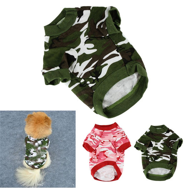 [NEW] Camo Style Puppy T-Shirts! - T-Shirt For Dog
