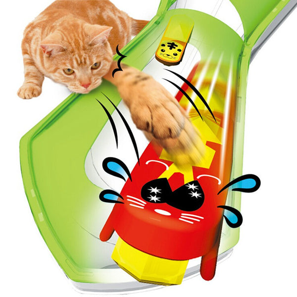 Fast Moving Electronic Bug Cat Toy!