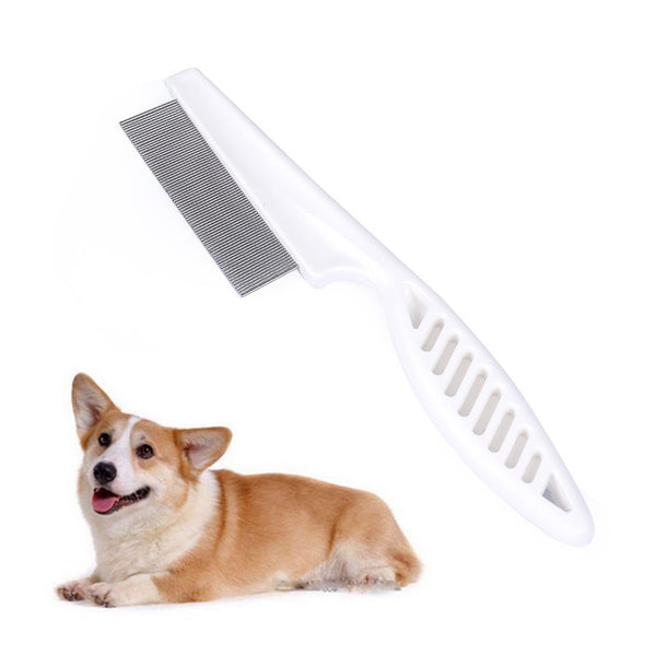 Stainless Steel Dog Flea Comb