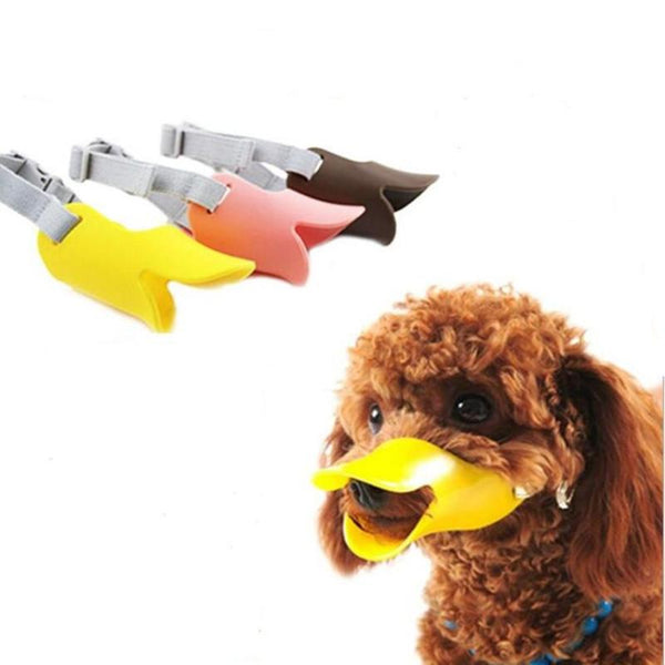 Dog Muzzle - Fun Silicone Cute Duck