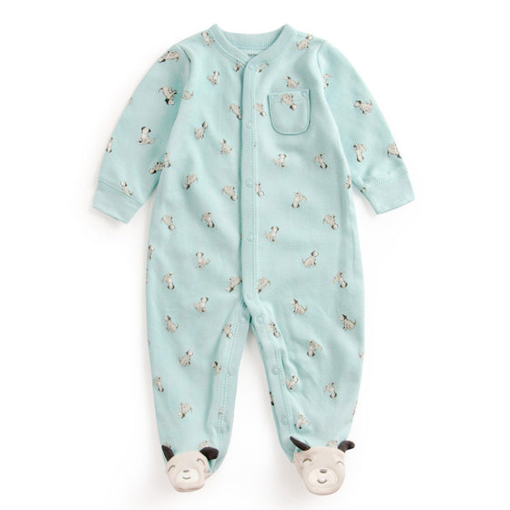 Cute Baby Dotted Dog Baby Outfit