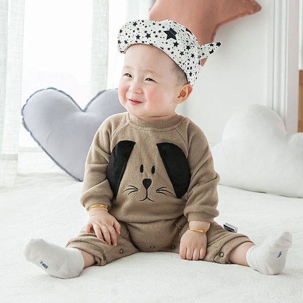 Adorable Cartoon Dog Baby Outfit