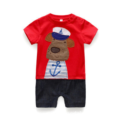 Cute Sailor Dog Baby Outfit