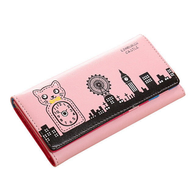 Ms. Coin Cat Print Purse! London Edition!