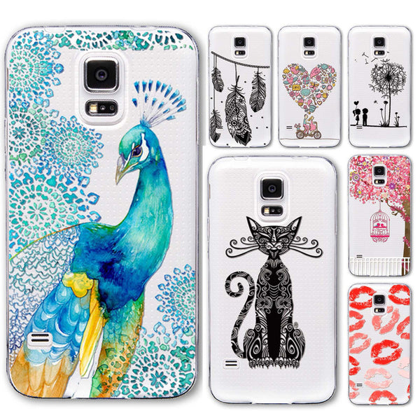 Gorgeous Tatto Designed Samsung Cat Phone Case Collection!