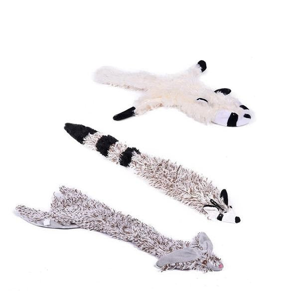 Lovely Animal Squeaking Toy! Raccoon, Pandas, Much more