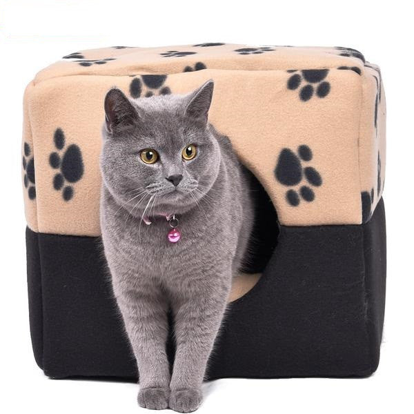 New Portable Cubic Cat Home
