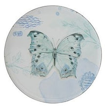 Vintage Inspired Enameled Plates, Set of 18