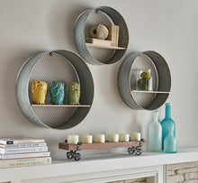 Laurel Round Wall Shelves, Set of 3