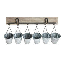 Hanging Buckets Wall Mount Organizer
