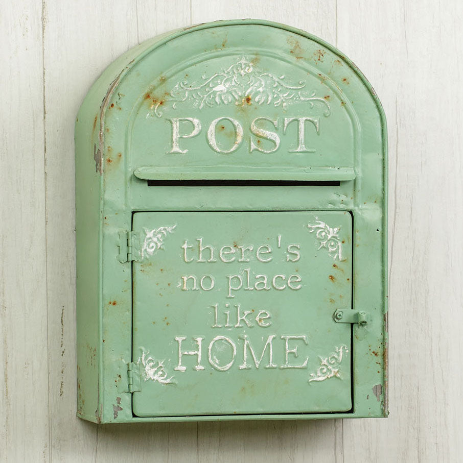 No Place Like Home Post Box