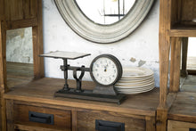 Large Decorative Hardware Scale Clock
