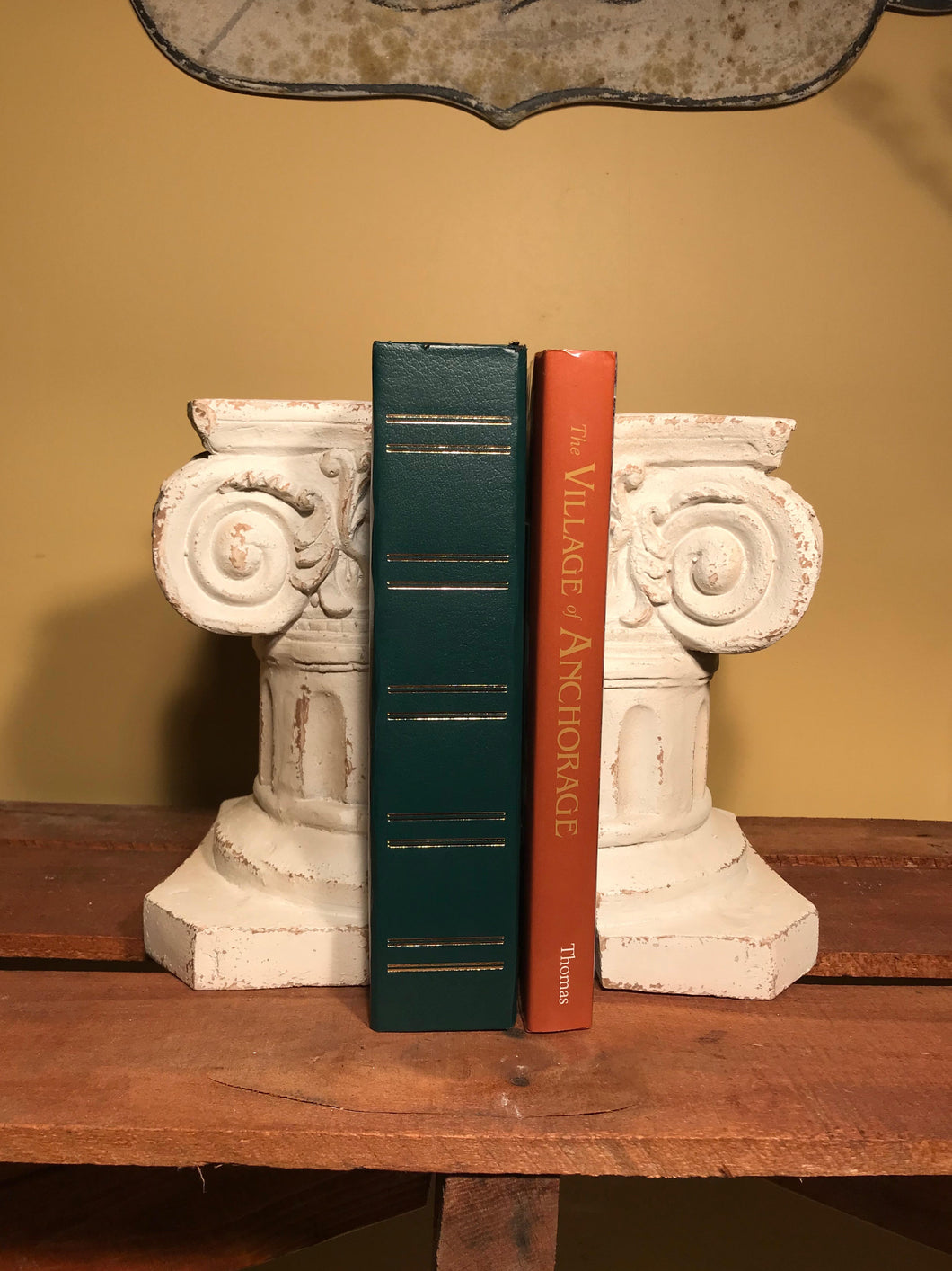Antique Inspired Wall Sconce Bookends, Set of 2