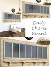 HUGE Daily Chores Board