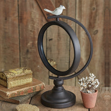 LARGE Marjorie Tabletop Mirror with Bird