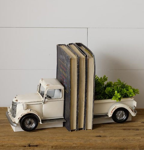 Vintage Pickup Truck Bookends