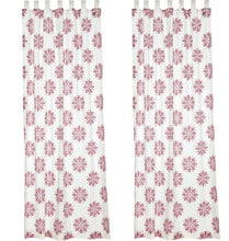 Mariposa Fuchsia Panel Curtain, Set of 2
