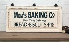 """Mom's Baking Co"" Wood Sign"