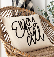 LARGE Enjoy It All Pillow